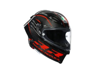 Race Helm AGV Pista GP RR Performance Red Glossy Carbon, glanz