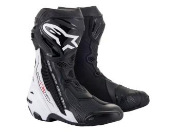 Stiefel Alpinestars Supertech R Boots 2021 Black White