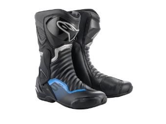 Motorradstiefel Alpinestars SMX 6 V2 schwarz grau blau