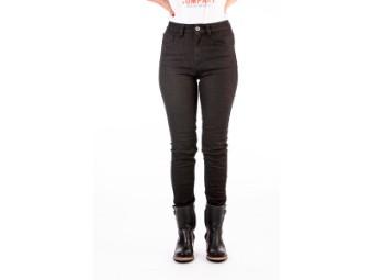 Motorradjeans Rokker Rokkєrtech High Waist Lady Jeans black