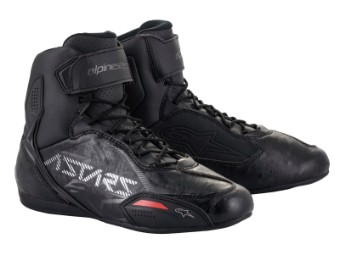Motorradschuhe Alpinestars Faster 3 Shoes black gunmetal