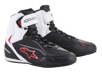 Motorradschuhe Alpinestars Faster 3 Shoes black white red
