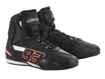 Motorradschuhe Alpinestars Austin Riding Shoes Marc Marquez MM93 Faster 3