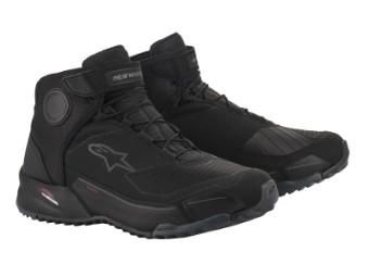 Motorradschuhe Alpinestars CR-X Drystar Shoes black black