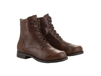 Motorradsschuhe Alpinestars Distinct Drystar Shoes brown