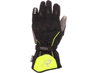 Virium Gore Tex Motorradhandschuhe schwarz gelb