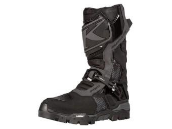 Motorradstiefel Klim Adventure GTX Boots Gore Tex schwarz