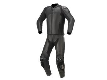 Lederkombi Alpinestars GP Plus V3 Graphite 2PC Suit Zweiteiler black