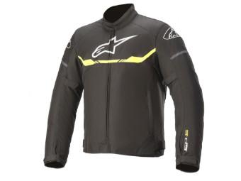 Motorradjacke Alpinestars T-SPS Waterproof Jacket schwarz gelb