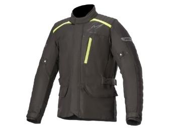 Motorradjacke Alpinestars Gravity Drystar Jacket schwarz gelb