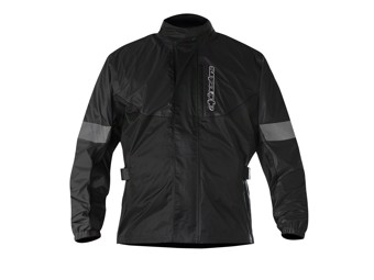 Regenjacke Alpinestars Hurricane Jacket Black