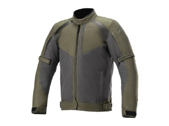 Motorradjacke Alpinestars Headlands DryStar Jacket forest black