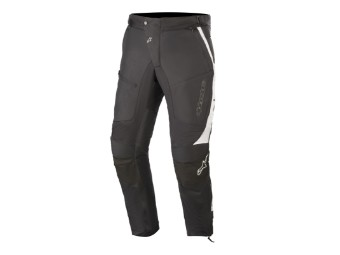 Motorradhose Alpinestars Raider V2 Drystar Pants black white