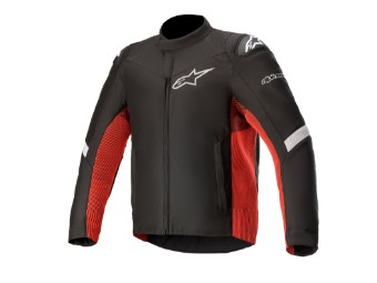 Motorradjacke Alpinestars TSP-5 Rideknit Jacket black bright red