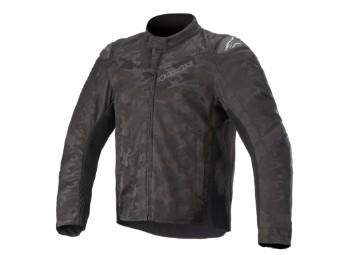 Motorradjacke Alpinestars TSP-5 Rideknit Jacket black camo