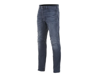 Motorradjeans Alpinestars Diesel AS-DSL Shiro Denim Pants rinse plus blue