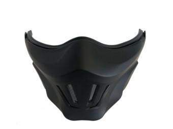 Kinnteil Maske Scorpion Exo Combat Evo Mask schwarz matt