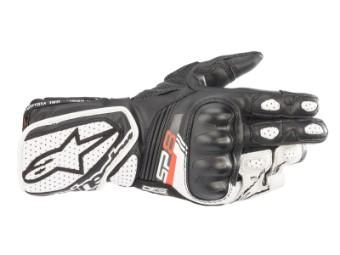 Motorradhandschuhe Alpinestars Stella SP-8 V3 Gloves Lady schwarz weiß