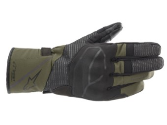 Motorradhandschuhe Alpinestars Andes V3 Drystar Gloves black forest green