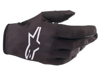 Crosshandschuhe Alpinestars Youth Radar Gloves 2022 black