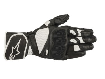 Motorradhandschuhe Alpinestars SP-1 V2 Gloves schwarz/weiß