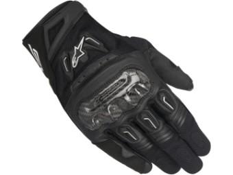 Motorradhandschuhe Alpinestars SMX 2 Air Carbon V2 Gloves schwarz