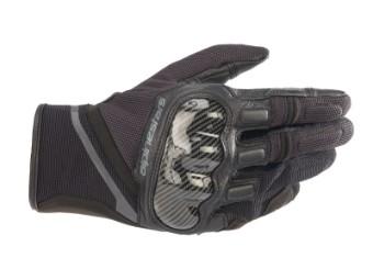 Motorradhandschuhe Alpinestars Chrome Gloves schwarz grau