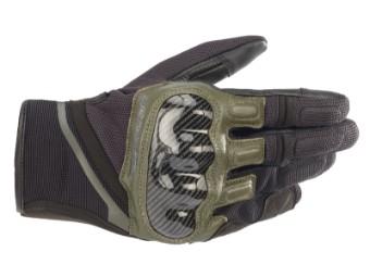 Motorradhandschuhe Alpinestars Chrome Gloves schwarz grün