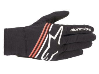 Motorradhandschuhe Alpinestars Reef Gloves black white red fluo