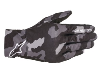 Motorradhandschuhe Alpinestars Youth Reef Gloves black gray camo Kinderhandschuhe