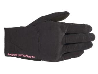 Motorradhandschuhe Alpinestars Reef Women Gloves black fuchsia