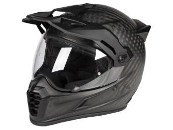 Helm Klim Krios Pro Black Matt schwarz matt Dual Sport Adventure