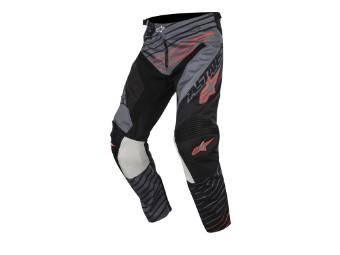 Crosshose Alpinestars Racer Braap Pants 2017 gray black orange