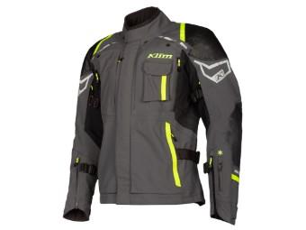 Motorradjacke Klim Kodiak Redesign Gore Tex Jacket grau gelb