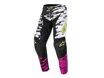 Racer Braap Pants 2016 weiß/pink/schwarz