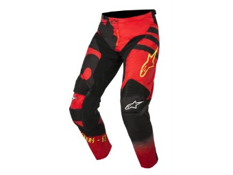Crosshose Alpinestars Racer Braap Pants 2018 red/black/yellow-fluo