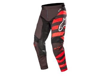 Crosshose Alpinestars Racer Braap Pants 2019 black/red/white