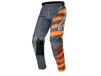Crosshose Alpinestars Racer Braap Pants 2019 anthracite/orange fluo