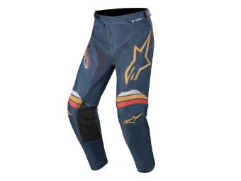 Crosshose Alpinestars Racer Braap Pants 2020 navy orange