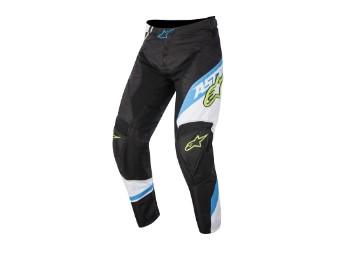 Racer Supermatic Pants 2016 schwarz/cyan/weiß