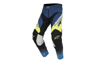 Crosshose Alpinestars Supermatic Pants 2017 blue/cyan/yellow-fluo