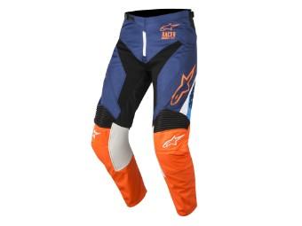 Crosshose Alpinestars Supermatic Pants 2018 dark blue/orange-fluo/aqua