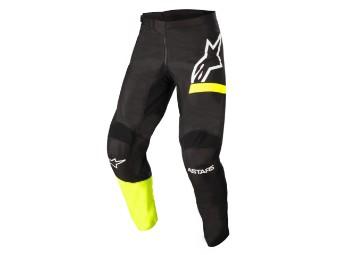 Crosshose Alpinestars Fluid Chaser Pants 2022 black yellow fluo