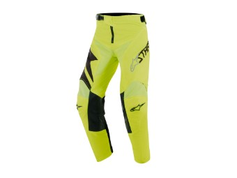 Crosshose Alpinestars Youth Racer Factory Pants black / yellow fluo