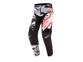 Crosshose Alpinestars Youth Racer Tactical Pants black / grey / camo