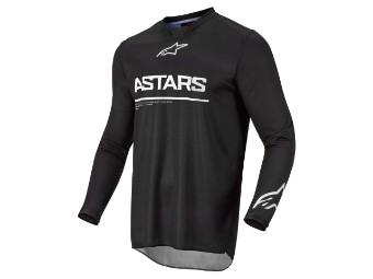 Crosshemd Alpinestars Racer Graphite Jersey 2022 black