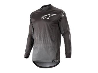 Crosshemd Alpinestars Racer Graphite Jersey 2019 black/anthracite