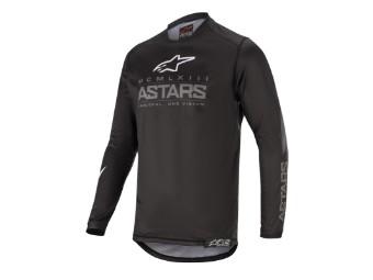 Crosshemd Alpinestars Racer Graphite Jersey 2020 black dark gray