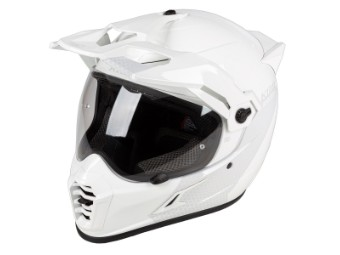 Helm Klim Krios Pro Haptik White Dual Sport Adventure