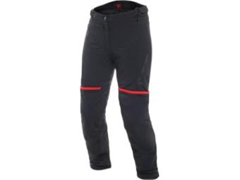 Motorradhose Dainese Carve Master 2 Lady Gore Tex Pants schwarz/rot